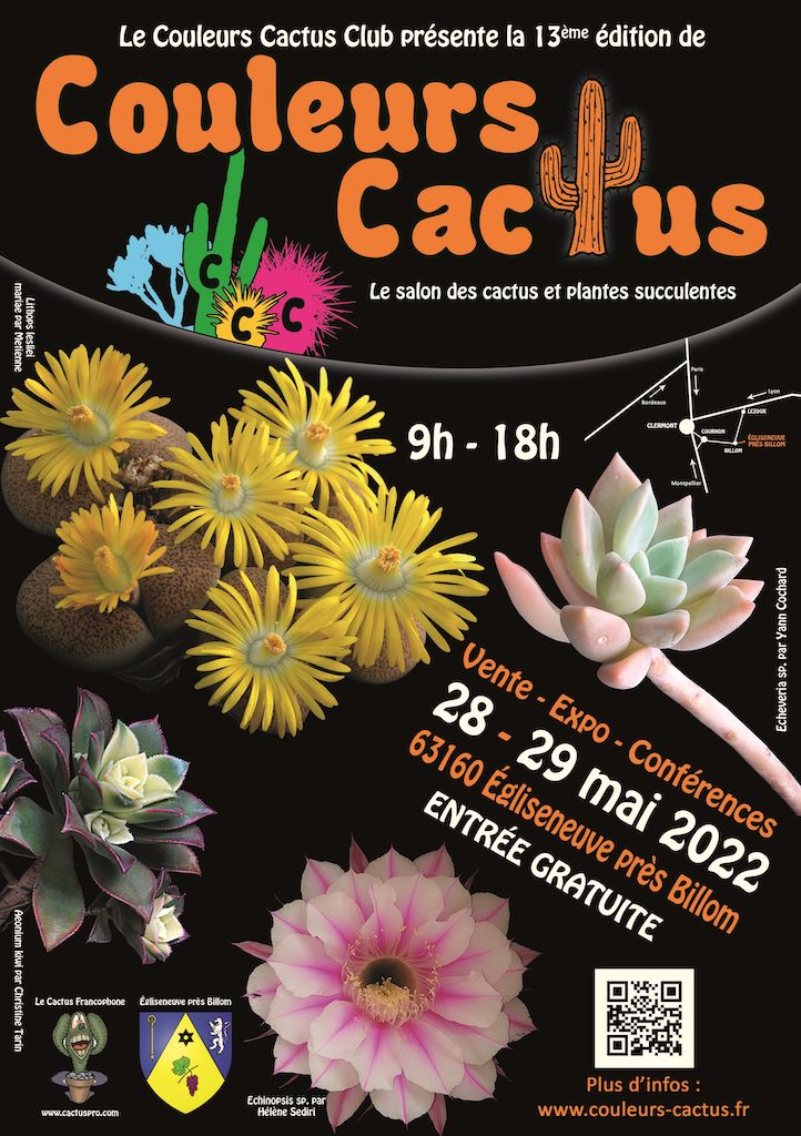 Couleurs Cactus 2022